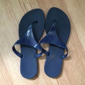 Navy blue old navy sandals